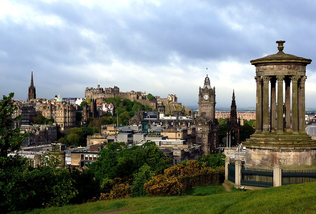 Edinburgh i helgen